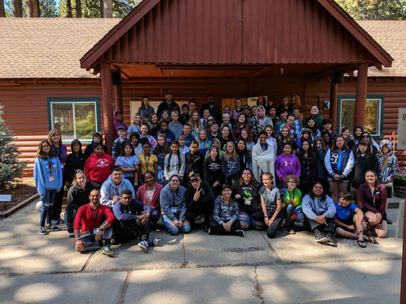 Group picture at 2019 Summer Camp