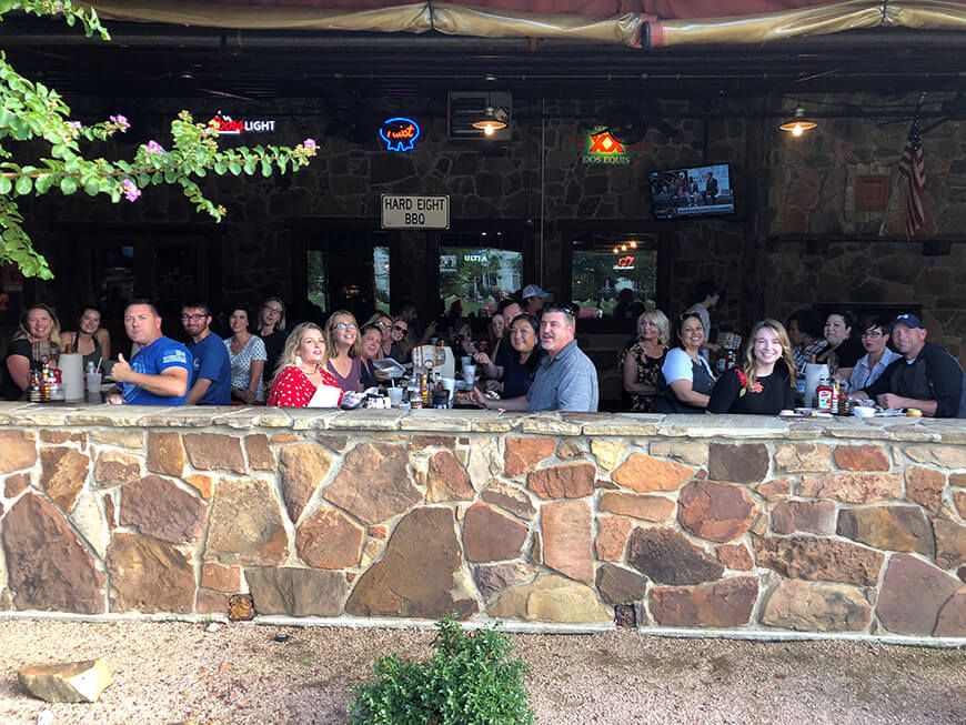 Prevention Advocates from across Nevada gather for some BBQ