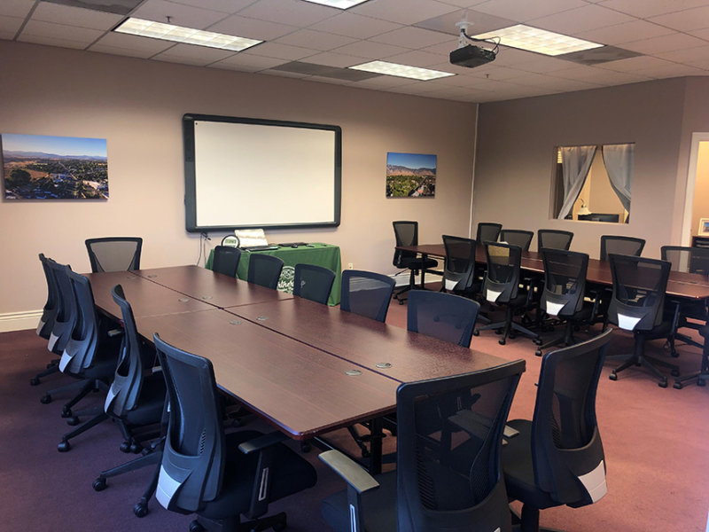 Partnership Douglas County's Training Room