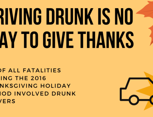Driving Drunk is No Way to Give Thanks