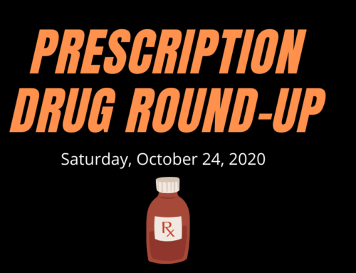 Prescription Drug Round-Up 10/24/2020